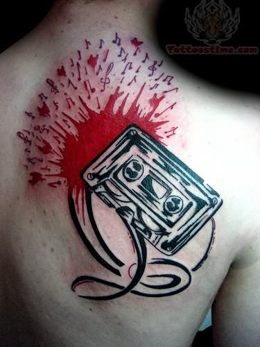 music-tattoo-for-back