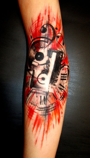 music_tattoo_by_truemmertattoo-d4imscz