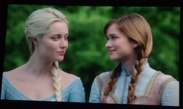 Once Upon a Time - Season 4 - First Look at Anna and Elsa