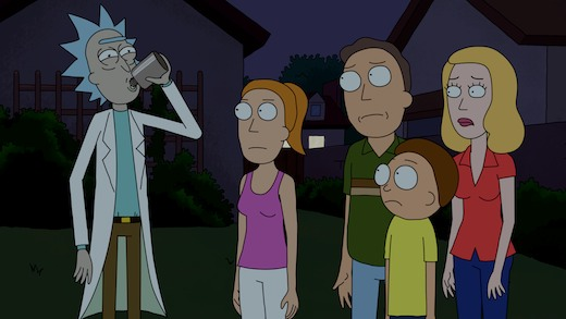 Rick-and-morty-family