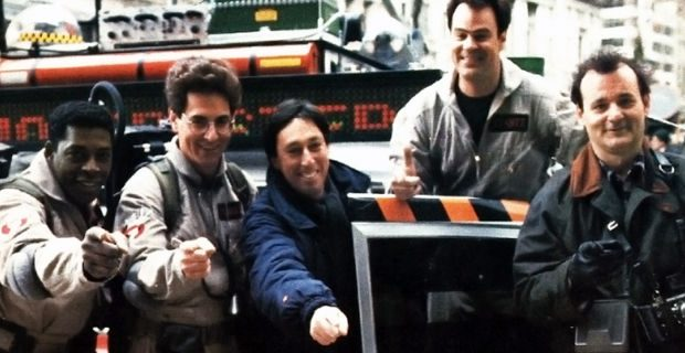 Ivan-Reitman-and-Ghostbusters-2-cast