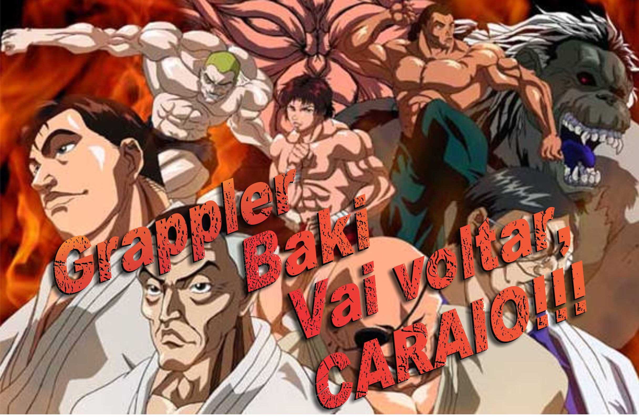 Grappler Baki de volta