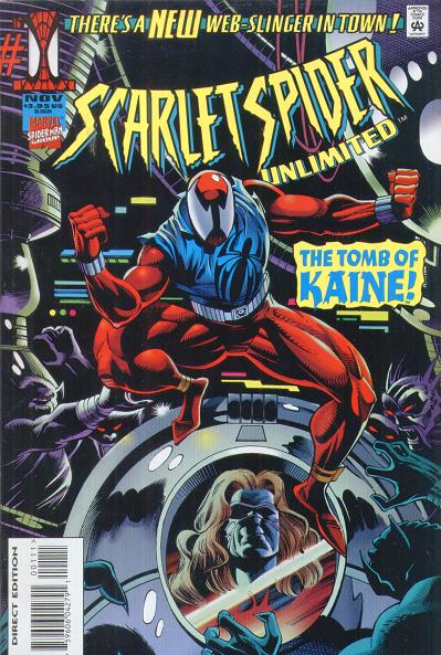 Capa original de Scarlet Spider Unlimited.